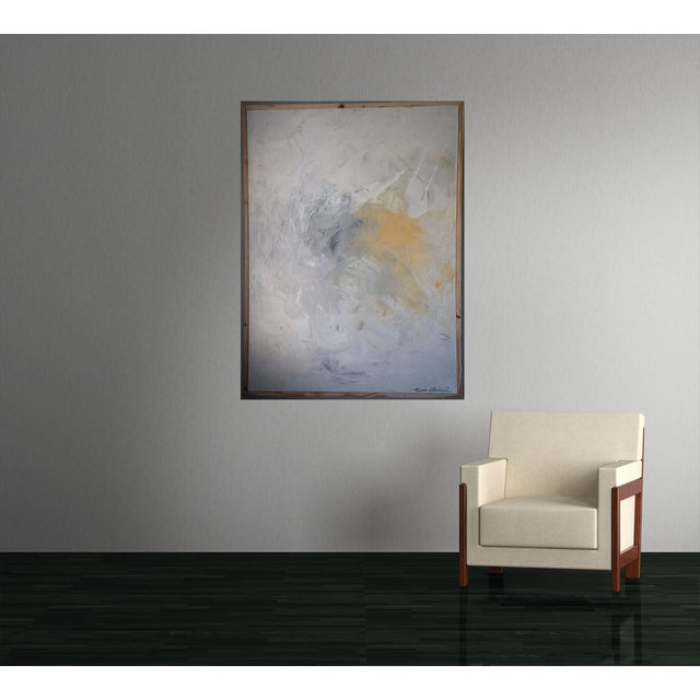 "Image of ""Skies Series 1"" Abstract Art by Kris Gould"