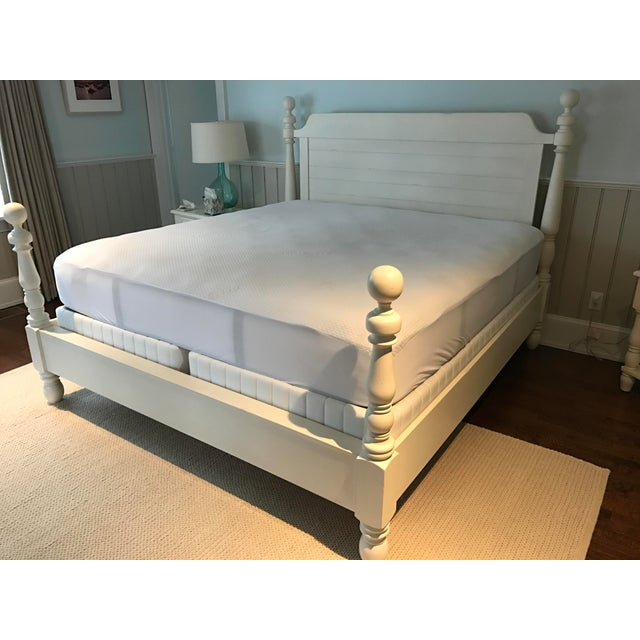 Pottery Barn King Size Caroline Bed - Image 2 of 3