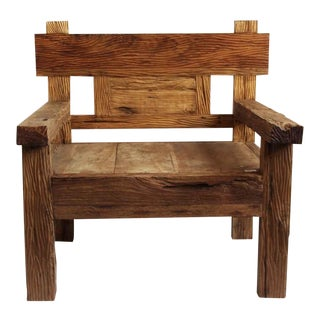 Railway Wood Chair