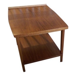 Mid-Century Lane Side Table