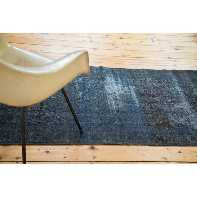Hand-Knotted Overdyed Runner Rug - 3' x 19' - Image 6 of 10