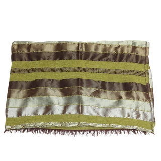 Green Safi Throw