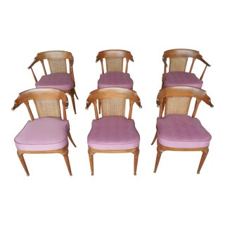 Vintage Mid-Century Dining Chairs -Set of 6