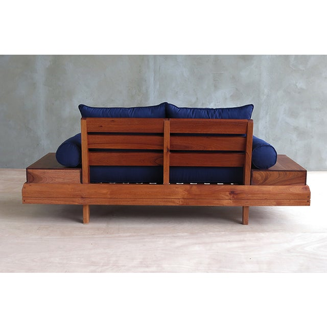 Floating Blue Loveseat by Masaya & Company - Image 5 of 8