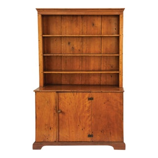 Canted Open Top Cupboard