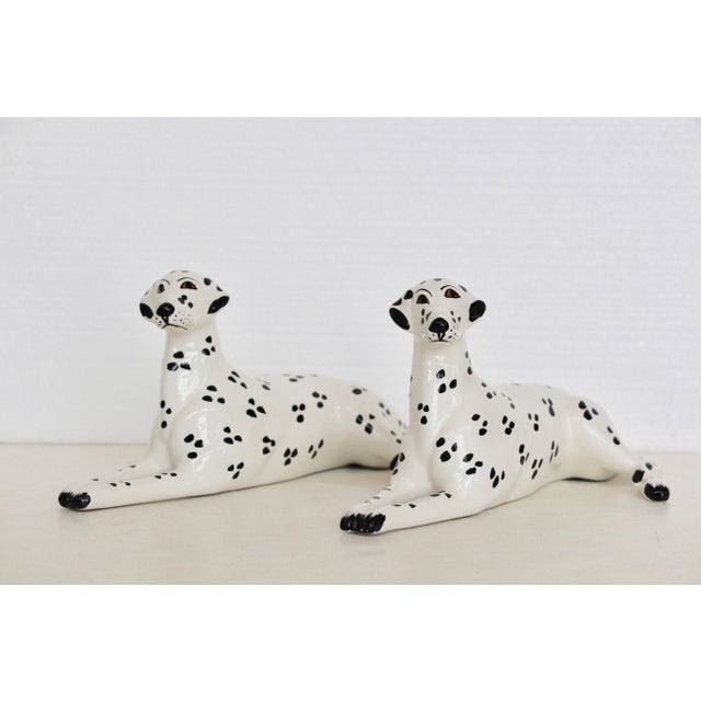 Italian Porcelain Dalmatian Figurines - A Pair - Image 3 of 6