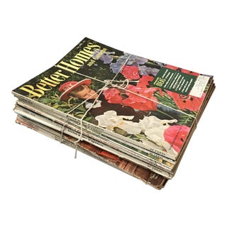 1958 Better Homes & Gardens Magazine Collection - Set of 12