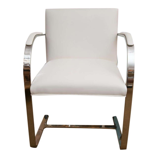 Set of Faux Leather Brno Chairs - Image 1 of 10