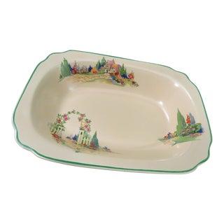 Vintage Homer Laughlin Wells English Garden Serving Bowl