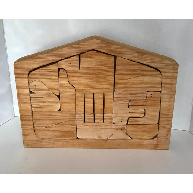 Handmade Wooden Puzzle - Image 2 of 3