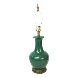Emerald Green Ginger Jar Lamp