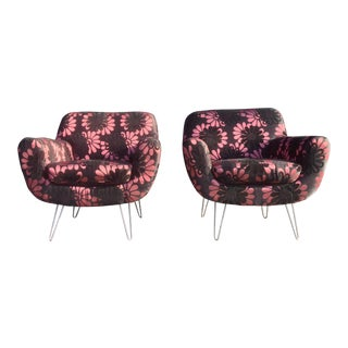Mid-Century Inspired Lounge Chairs