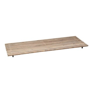 Charlotte Perriand Low Cansado Slat Bench