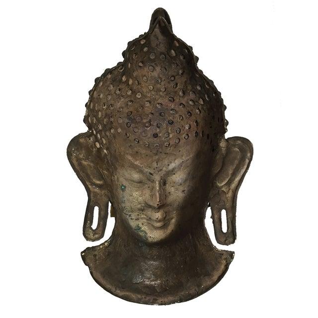 Image of Vintage Brass Head Buddha
