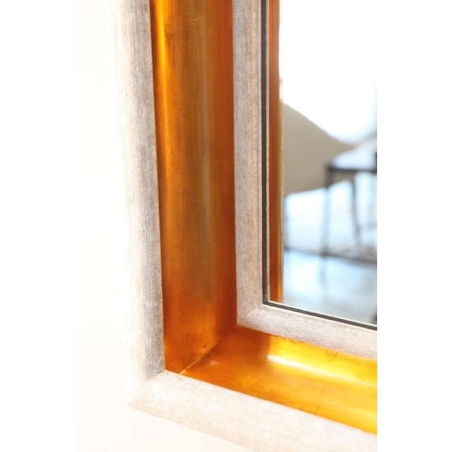 Paul Marra Design Cove Mirror in Driftwood and Gold - Image 5 of 6