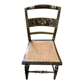 Hitchcock Cane Side Chair