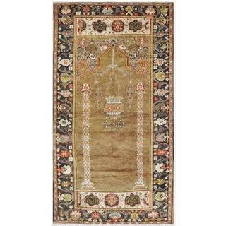 Vintage Handmade Turkish Rug - 4' x 7' 7'