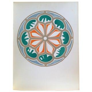 "Henri Matisse Original Lithograph ""La Rosace"" 1954"
