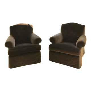 Michael Taylor Style Club Chairs - A Pair