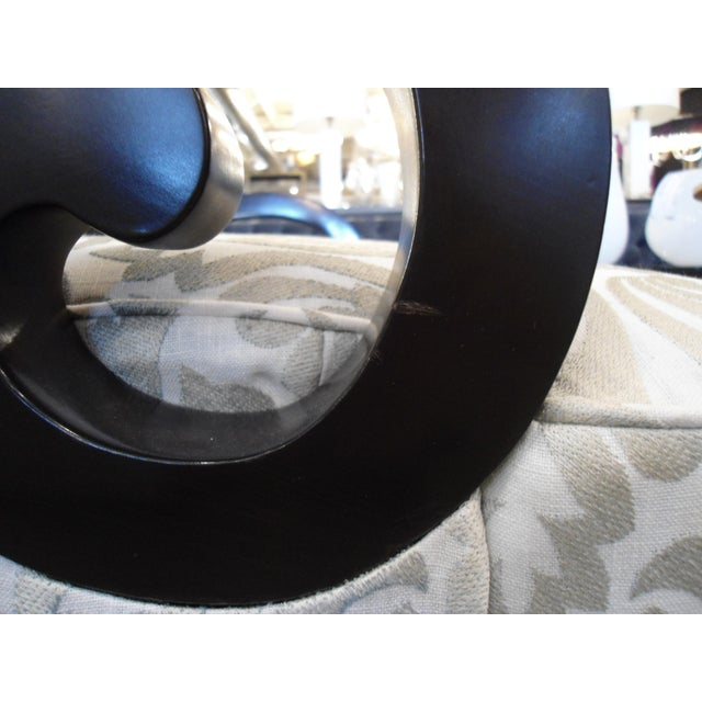 White & Silver Bergere Arm Chair - Image 9 of 10