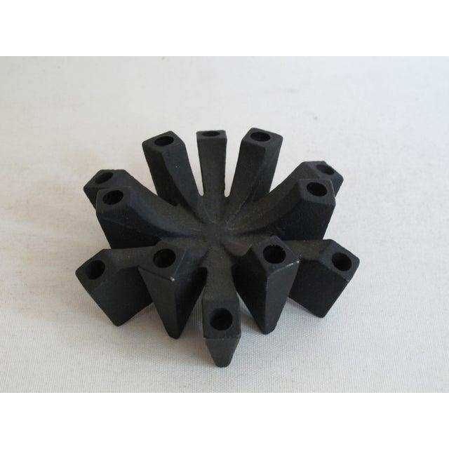 Image of Danish Iron Candleholder