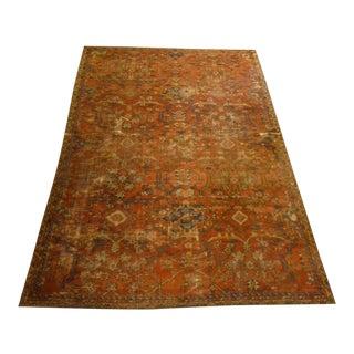 Vintage Flat Weave Rug - 7′10″ × 10′8″