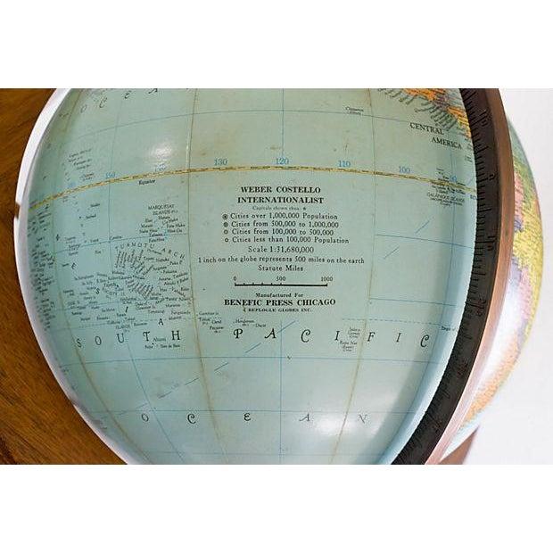 Mid-Century Kittinger Floor Globe - Image 6 of 7
