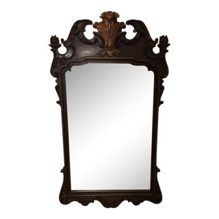 Regent Italian Mirror With Carved Detail