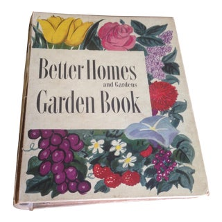 1951 Mid-Century Decorative Garden Book With Great Cover