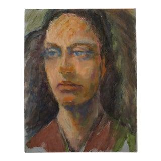 Portrait - Stranger Art - Original Artwork - Oil or Acrylic on Hardboard
