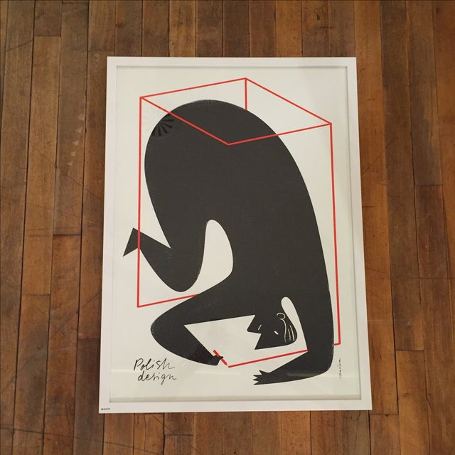 "Polish Design Print - ""Man in a Box"" - Image 3 of 7"