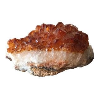 Amber Crystal Mineral Specimen