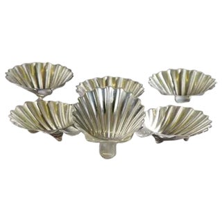 Mexican Sterling Shell Dishes - Set of 6