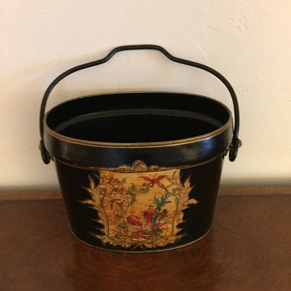 Cast Iron Decorative Bucket - Image 3 of 6