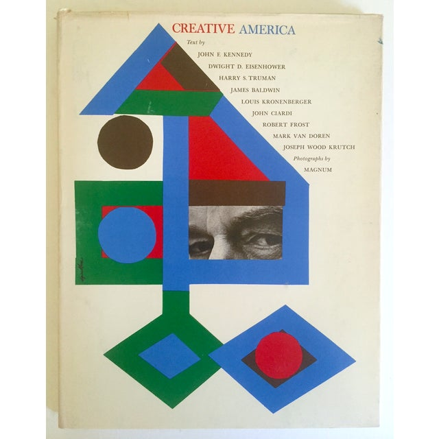 "Vintage 1962 ""Creative America"" Mid Century Modern Collector Cultural Arts Book - Image 2 of 10"