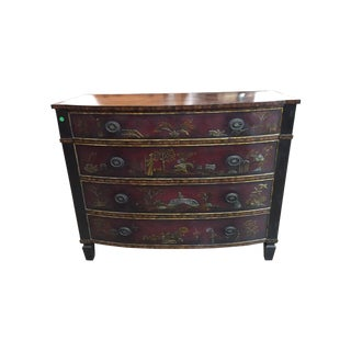 Maitland-Smith Chinoiserie Style 4 Drawer Chest