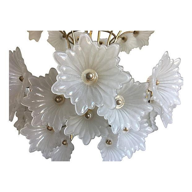Flower Blossoms Chandelier - Image 3 of 9