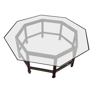 Vintage Octagon Cocktail Table