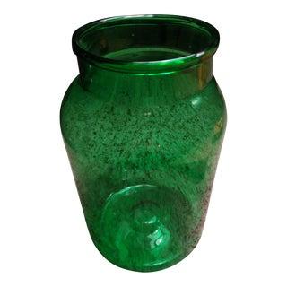 Vintage Hungarian Glass Jar or Vase