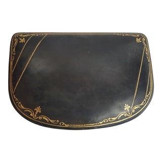 Black Italian Leather Box