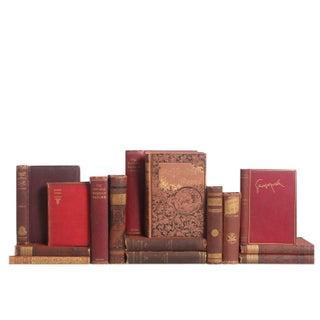 Antique Petite Poetry Books - Set of 15