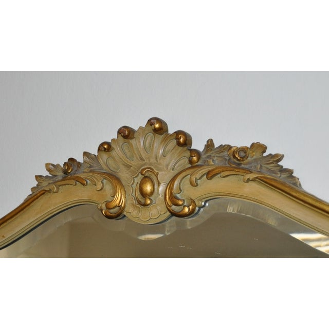 Vintage 1920s French Louis XV Style Vanity - Image 7 of 11