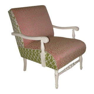 Open Arm Accent Chair