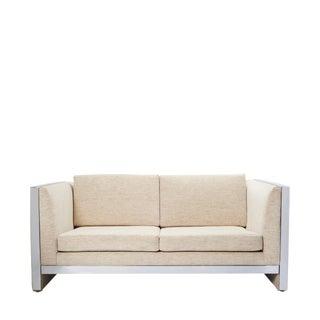 Milo Baughman Style Mid-Century Modern Sofa