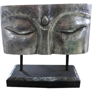 Indonesian Silver Face Panel on Stand