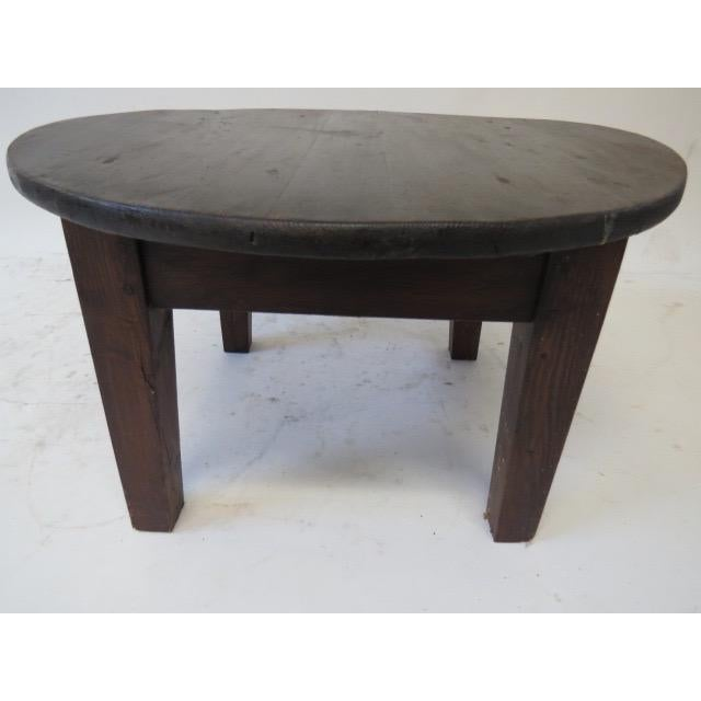 1930s Rustic Pine Coffee Table Chairish