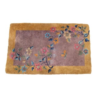 Chinese Art Deco Rug - 3′ × 4′8″