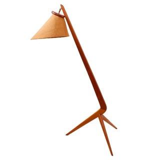 Greta Grossman 'Grasshopper' Style Floor Lamp