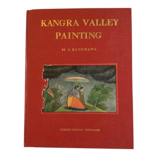 Vintage Kanga Valley Painting Art Book