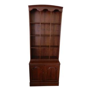 Ethan Allen Cherry Bookcase
